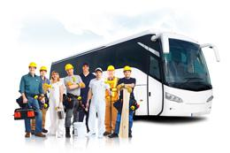 Доставка и развоз сотрудников и персонала