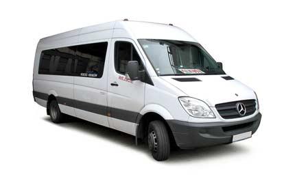 микроавтобуса мерседес фото