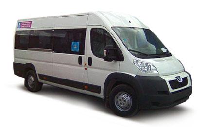 Микроавтобус Peugeot Boxer (18 мест)