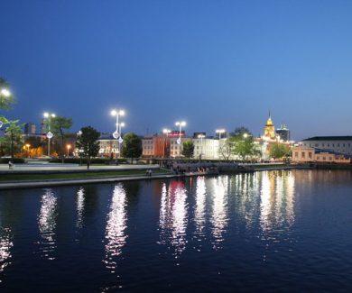 Экскурсия по вечернему Екатеринбургу