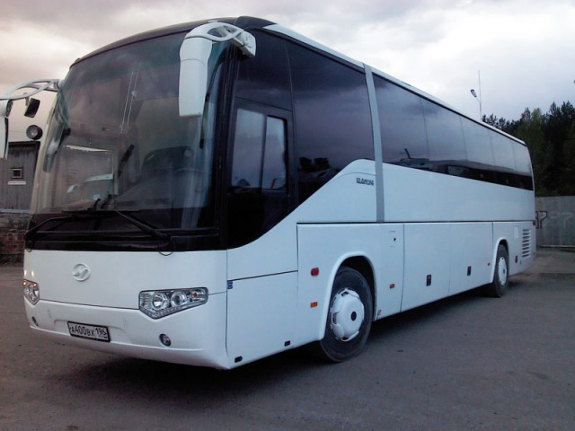 Заказ и аренда автобуса Higer (Хайгер) на 50 мест ...