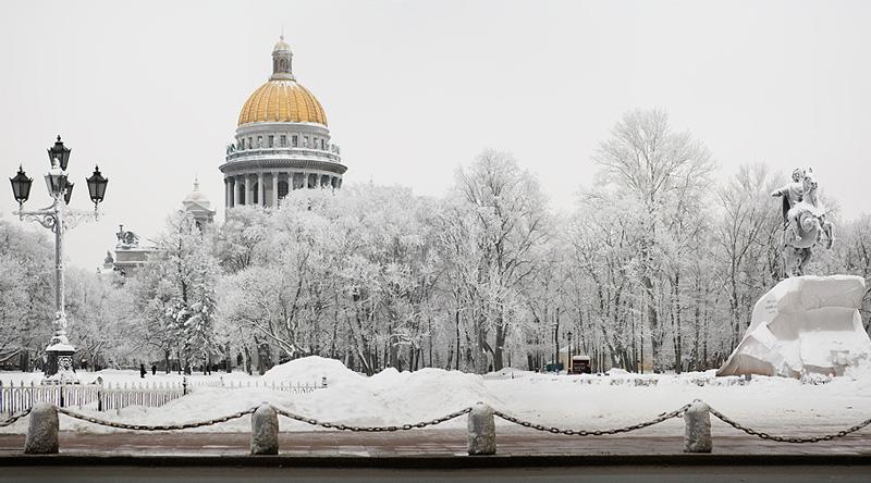 Тур Зимний Санкт-Петербург