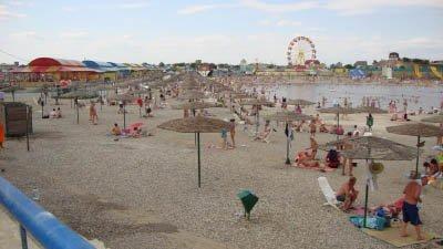 Пляж Соль-Илецка