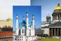Тур Три Столицы: Казань-Москва-Санкт-Петербург