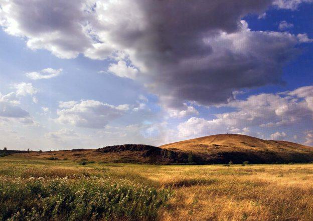 Гора Шаманка Аркаим
