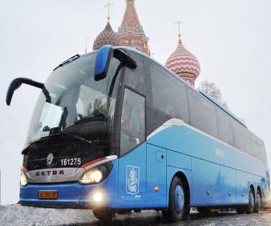 Заказ автобусов в Екатеринбурге