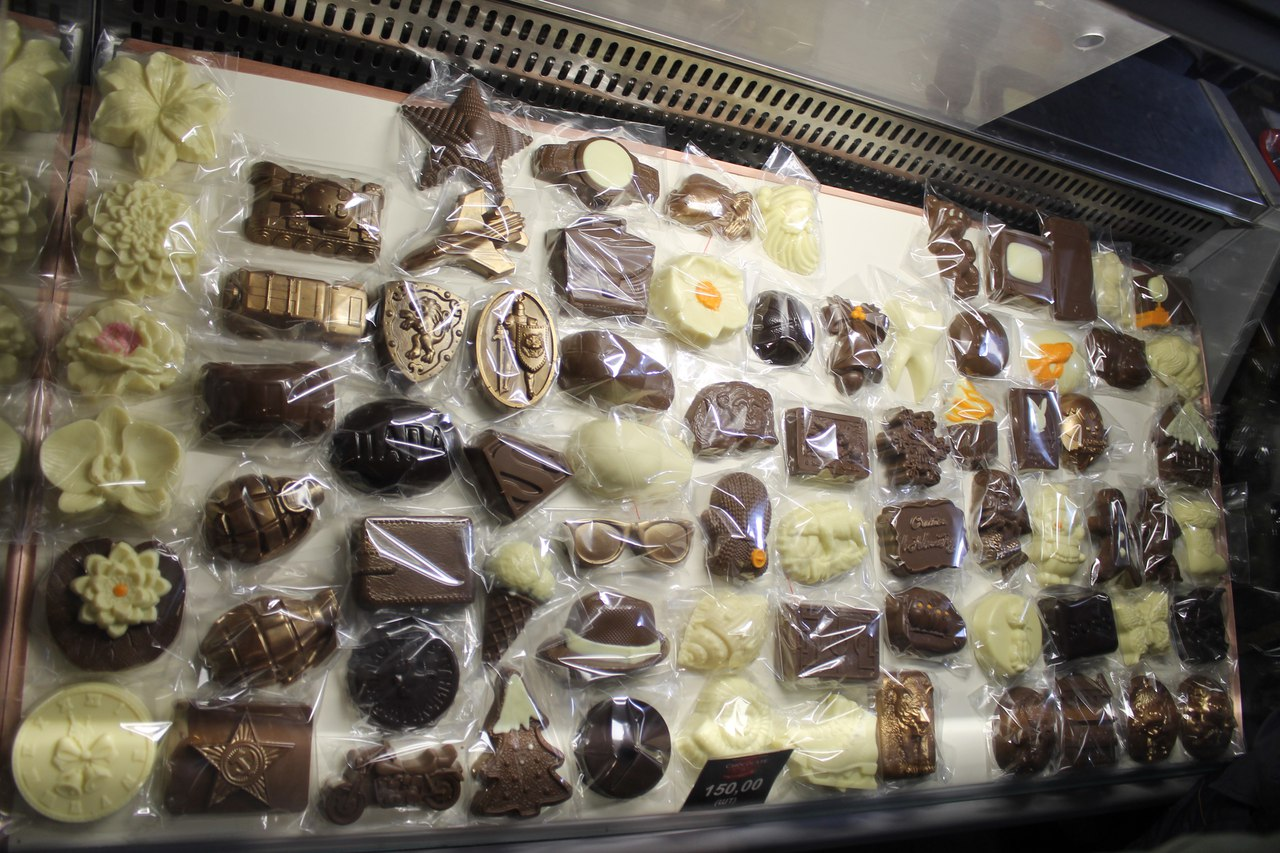 Экскурсия в шоколадную мастерскую