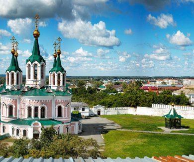 Экскурсия в Далматово и Шадринск