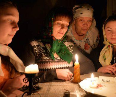 Село Костино Рождественские святки