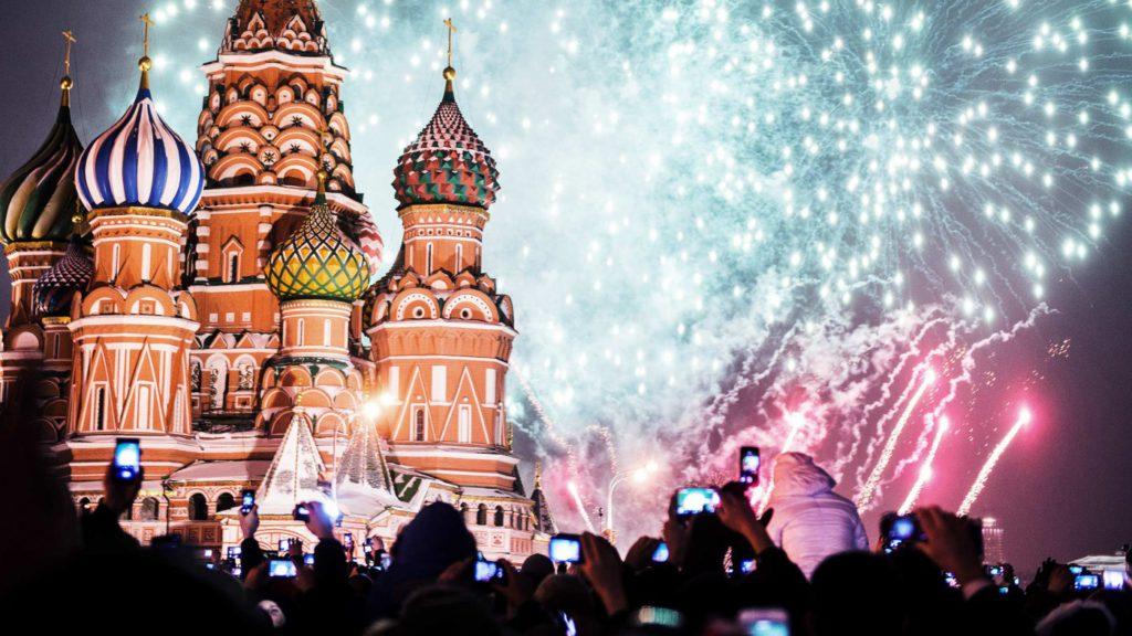 Москва - Новогодние огни Москвы (4 дня / 3 ночи + ж/д проезд)
