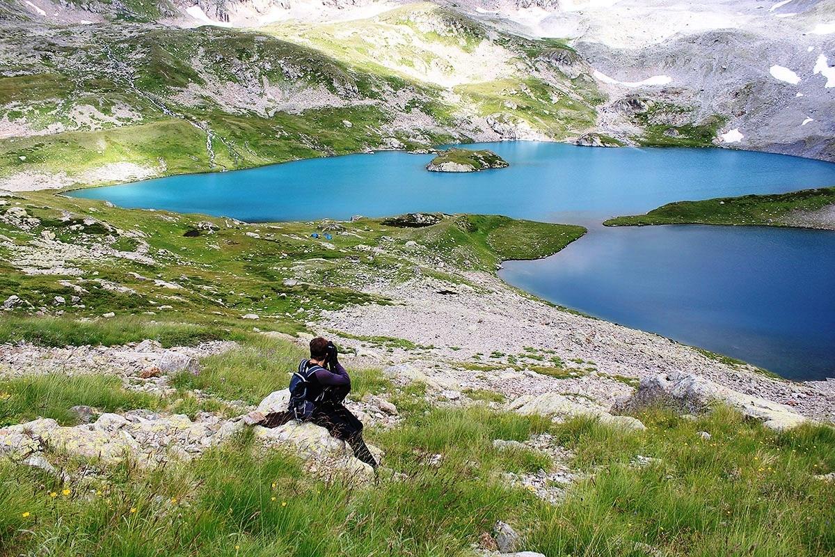 Пеший тур на Имеретинские озера, поход по Кавказу