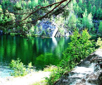 Поход на озеро Тальков камень