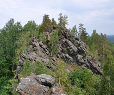 Каменный пояс Бажова Тальков камень и гора Шунут