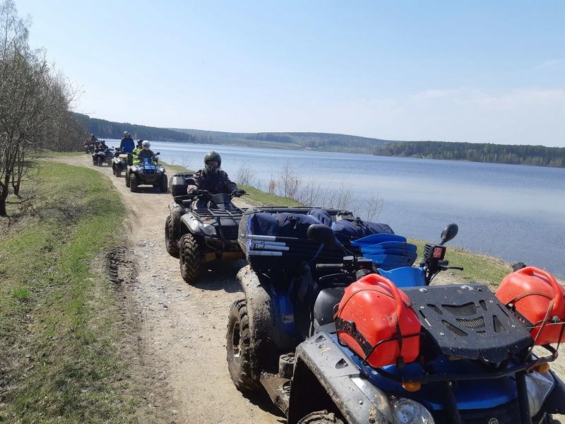 Джип тур - Затерянный мир озера Щучье и Газета